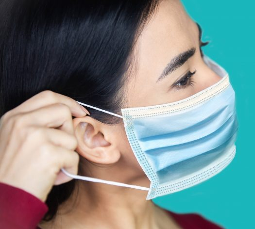disposable face mask protective equipment